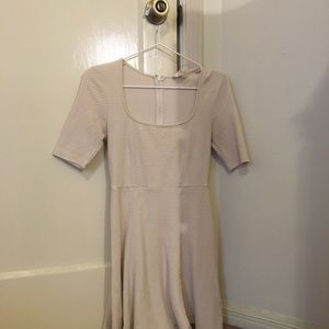 H&M Pins and Needles White Dress